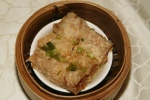 Steamed Bean Curd Rolls with Pork