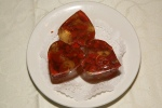 Lychee Jell-O with Sweet Tea Olive