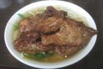Lemongrass Pork Chops with Soup Noodles 6.99 (Weekdays Tea or Coffee 50¢ extra) (Dine-in only)