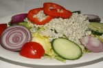House Salad (Choice of Dressing) (House Blue Cheese Dressing)