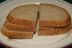 Rye bread for Kishke