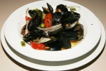 Fresh Mussels Mareniere with Frites