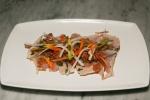 Albacore Tuna Carpaccio Herbs, Shallots, Lily Buds, Pickled Kohlrabi 14,00