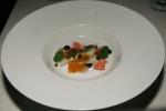 salmon – kohlrabi I nasturtium I caper