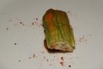 zucchini blossom – mussels I tomato I bouillabaisse