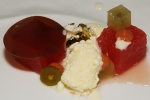 feta – watermelon I grapes I pistachio