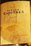 Tenuta Rapitala 'Piano Maltese', 2010