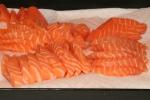 Sashimi for soy sauce tasting