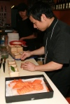 Sashimi preparation