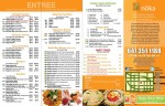 Noka Japanese Cuisine and Sushi – Taste of Noka Kensington Take Out Menu