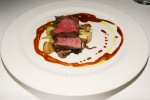 Beef Tenderloin Summer vegetables, cipollini onion, fingerling potato, wild mushrooms and veal jus