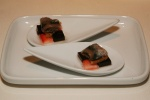The Tapas - Anchovy - strawberry and allspice