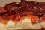 The Tapas - Flat bread soufflé and Iberian ham