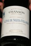Chanson - Côtes de Nuits Village 2008 – Bourgogne