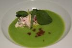 Chilled English Pea Soup – Nova Scotia Lobster Salad, Tarragon & Lemon