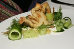 Chesapeake Soft Shell Crab – Cucumber (no hot spices for Marsha)