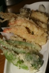 Vegetable and Shrimp Tempura