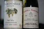 Grgich Hills Estate Chardonnay Napa Valley 2009 / Château de Beaucastel Chateauneuf-du-Pape 2008