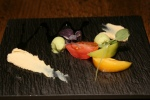 House Mascarpone, Red Miso, Soy-Balsamic, Heirloom Tomato, Avocado