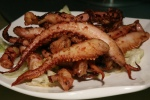 XL Deep Fried Octopus Fingers