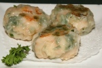 L Grilled Shrimp Patties with Chives