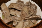 L Steamed Pork Belly with Black Pepper Sauce