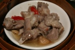 M Steamed Spareribs & Mushroom with Black Bean Sauce
