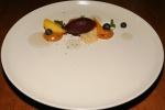 Wild Blueberry Sorbet Peaches, Lavender, Ricotta