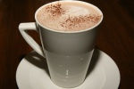 Hot chocolate – Vanilla, Rich (cream), Dark Chocolate (64%)