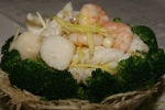 Rice Noodles with Assorted Seafood $13.95