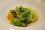 Daikon - plum, brussels sprouts, curry