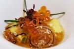 Egg - dashi, horseradish, ikura