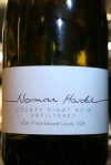2010 Norman Hardie County Pinot Noir, Prince Edward County, Ontario