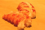 Lobster tails just out of sous vide cooker