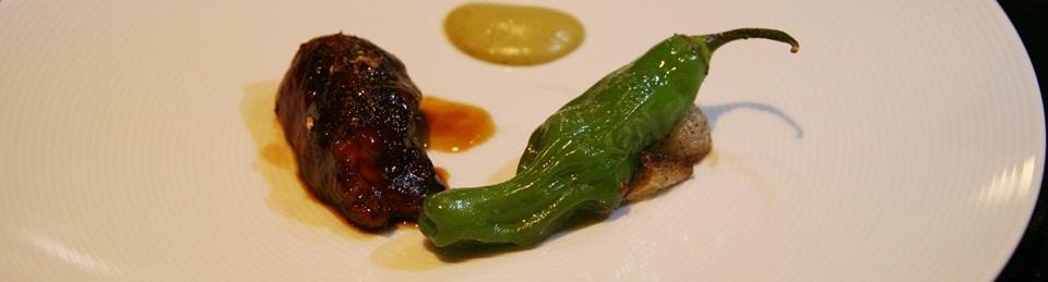 Veal Cheek - green chill, sichuan