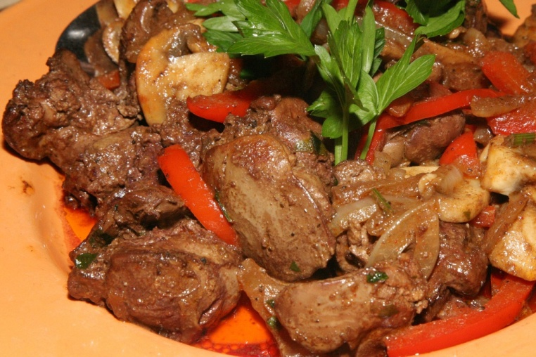 Sikotakia Kotas Pan fried chicken livers with herbs $13.95