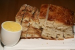 House breads - Soda bread and ciabatta, House made butter