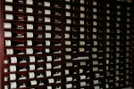 Barberian's Steak House – a portion of the wine cellar (magnums)