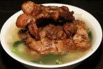 Lemongrass Pork Chops with Soup Noodle $6.99
