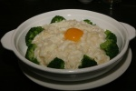 141 Fried Egg whites with Fish, Egg yolk and Broccoli $11.99