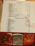 Tian Xin Place The Menu (a book)