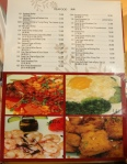 Tian Xin Place The Menu (a book)