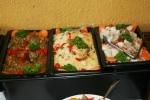 Baba Ghanoush, Rice Salad, Potato Salad