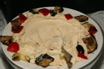 Hummus, Olives and Eggplant