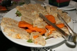 Gefilte Fish and carrots