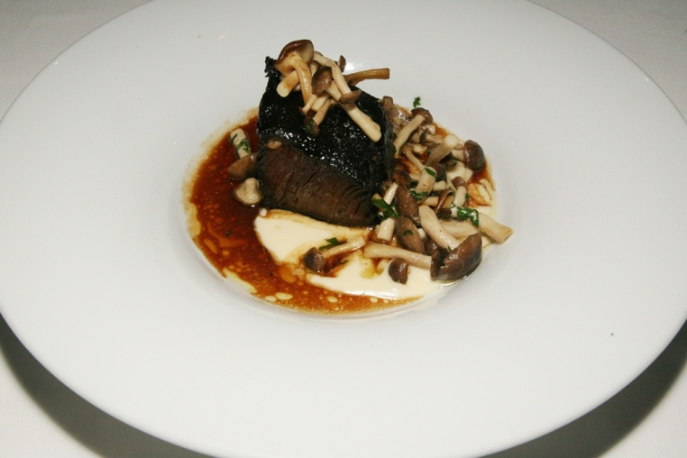 Braised Short Rib - Wild Mushrooms, Parsnip