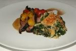 Boneless Lamb Leg - Kale Gratin, Brandywine Tomatoes