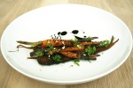 16. Carrots - birch syrup, malt, black almond $10