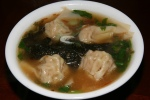 2012 11 24 - H1. Wonton (northern style) Soup (medium/large) $ 3.99/$5.70