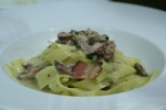 Rabbit Soffritto, Pappardelle Pasta Porcini Mushrooms, House Pancetta, Olives 26